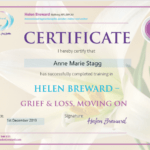 Grief and Loss Certificate