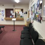 Reception at Molescroft Surgery
